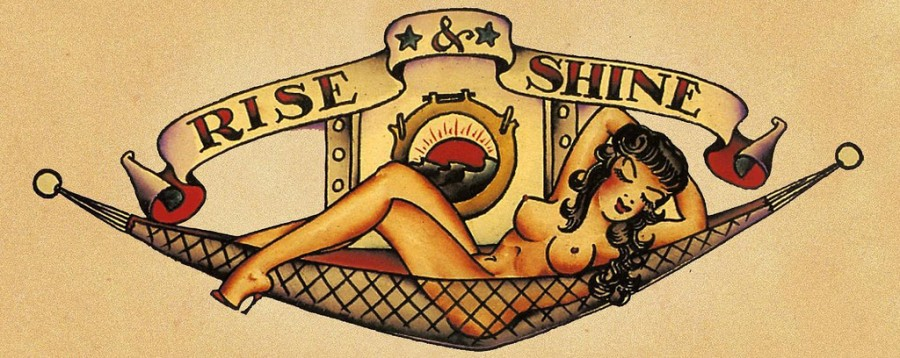 Sailor Jerry Tattoo Lettering