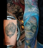Cover Up Santa Muerte Color