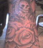 Tattoos Muerte La Santisima Tattoo