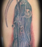 Santa Muerte Photos Tattoo Rasta