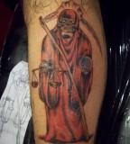 Santa Muerte Tattoo Artist