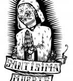 Santisima Muerte Tattoo Sketch
