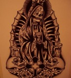 Tattoos Santa Muerte Origins And Significations