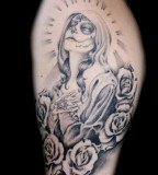 Santa Muerte Tattoo Club