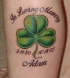 Shamrock Tattoo Ideas And Quotes Pictures