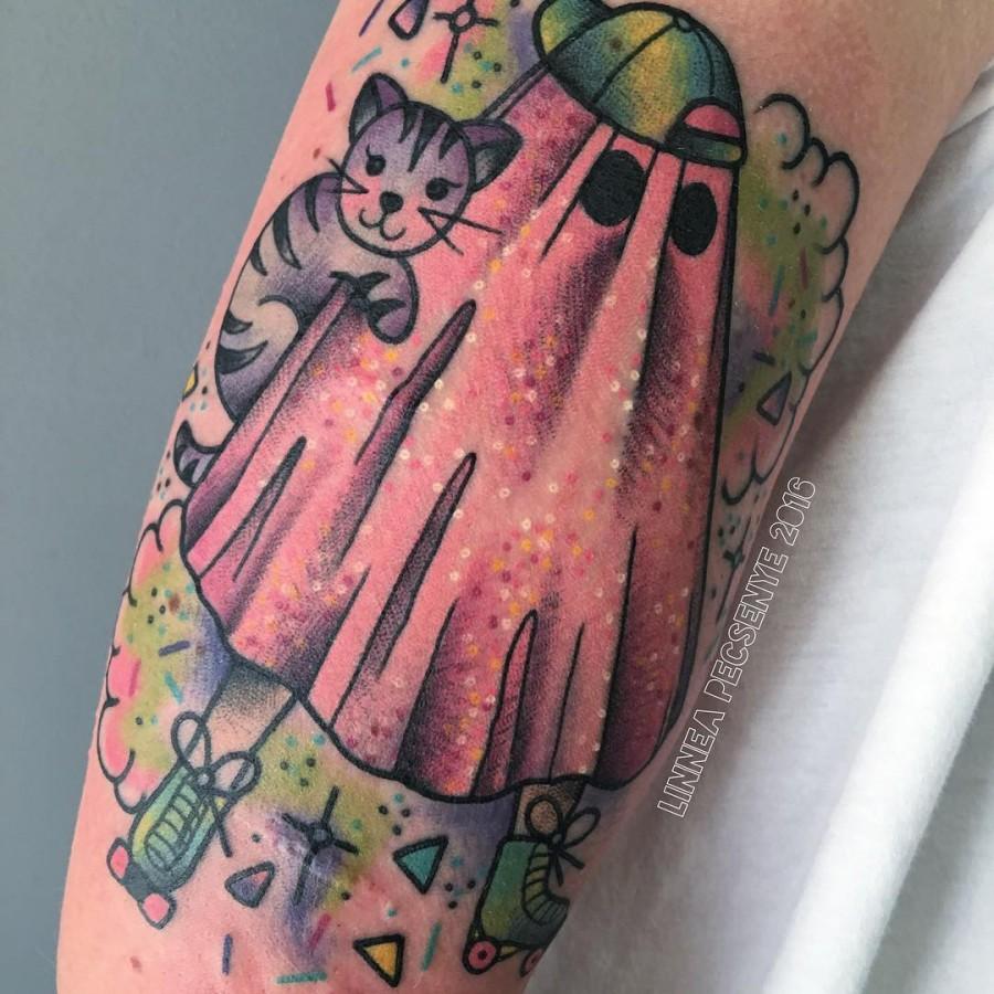 sheet-ghost-tattoo-by-linnea