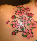 Shoulder Tattoos Beautiful Flower Tattoo Designs & Ideas For Women