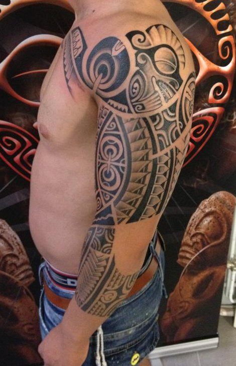 Shoulder Arm Tattoos for Men