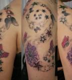 Horrendous Skull Tattoos - Shoulder Tattoo