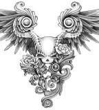 Skull Tattoo Designs - Sugar Skull Tattoo