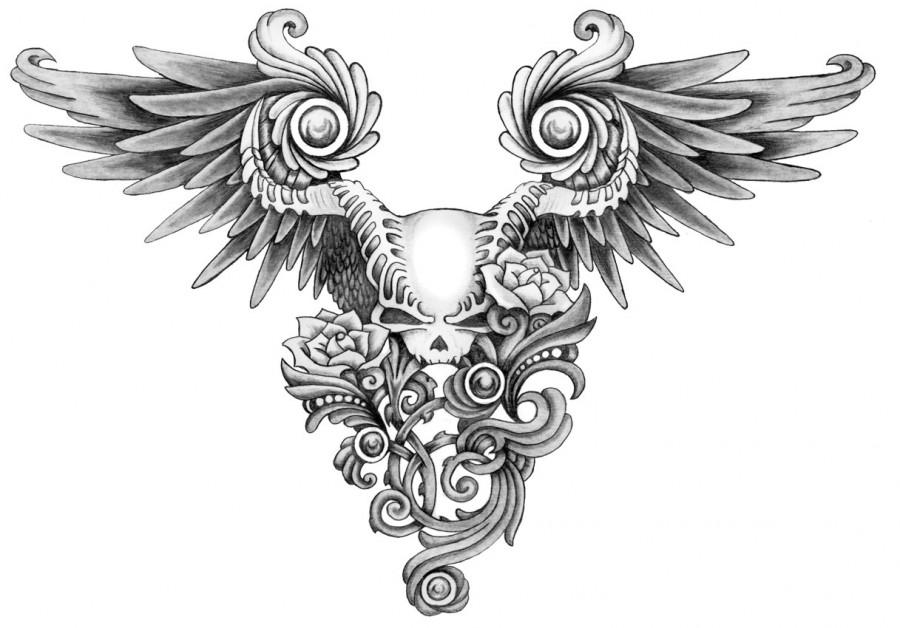 Black And White Sugar Skull Designs Skull Tattoo Designs Sugar