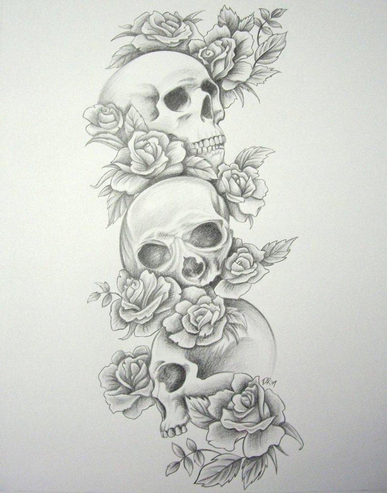 Tattoo Sketches Ideas Ideas Skull Tattoo Meaning