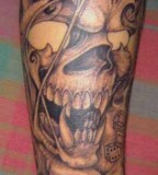 Tattoo Design Of Skull Tattoos