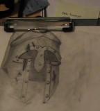 Spartan Helmet Sketch
