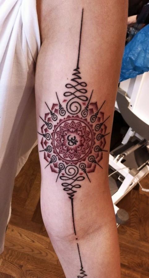 spiritual mandala tattoo