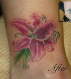 Redesign Tattoos Flower Tattoos Stargazer Lily