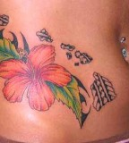 Sunflower Tattoo Design Ideas on Side for Women