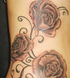 Beautiful Tattoo Design Of Rose for Women