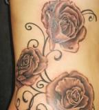 Beautiful Tattoo Design Of Rose for Women