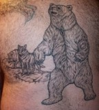 Bear Tattoo Design