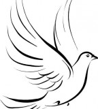 Cute Dove Symbol Tattoo Ideas