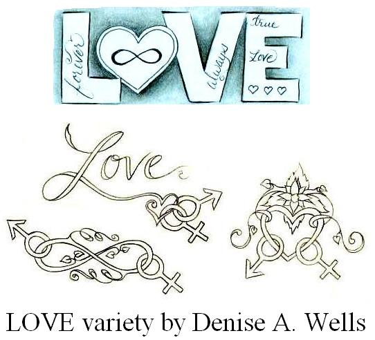Love Tattoo Variety Tattoomagz