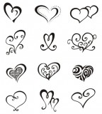 Love Symbol Tattoo Sketch