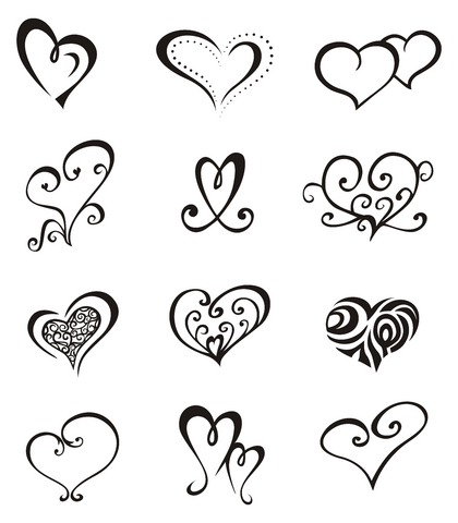 Love Symbol Tattoo Sketch Tattoomagz
