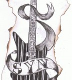 Synyster Gates Guitar Tattoo Sketches
