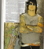 Synyster Gates Tattoo On The News