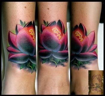 lotus flower cover up tattoos. Black Bedroom Furniture Sets. Home Design Ideas