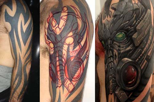 Bots Predator Cover Up Tattoos