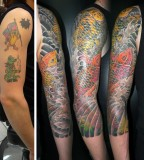 Arms Tattoo Cover Up Pictures