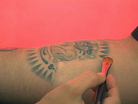 Cover Up A Tattoo Using Makeup - TattooMagz
