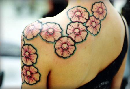 Cute Pinky Rose Tattoo Design For Girls Tattoomagz