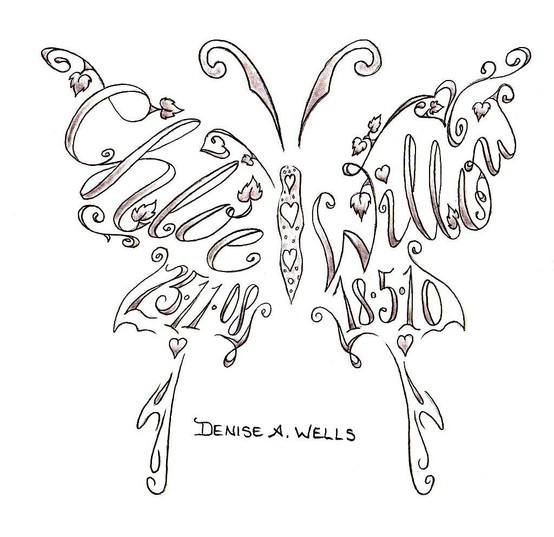 Design Names Ideas haymarkets geometric designs and patterns Cool Ashleys Name And Flying Butterfly Tattoo Design For Girls Design Names Ideas