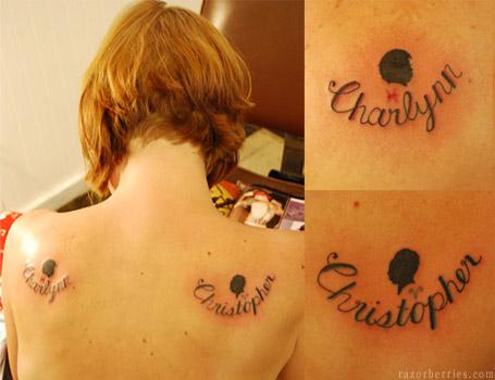 Tattoo Ideas for Kids Names