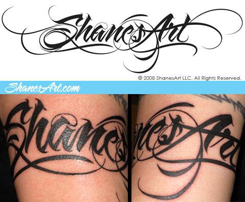 Amazing Graffiti Tattoo Letter Design Tattoomagz