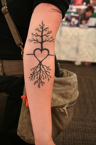 Cherry Tree Tattoo Designs for Women Arm - TattooMagz