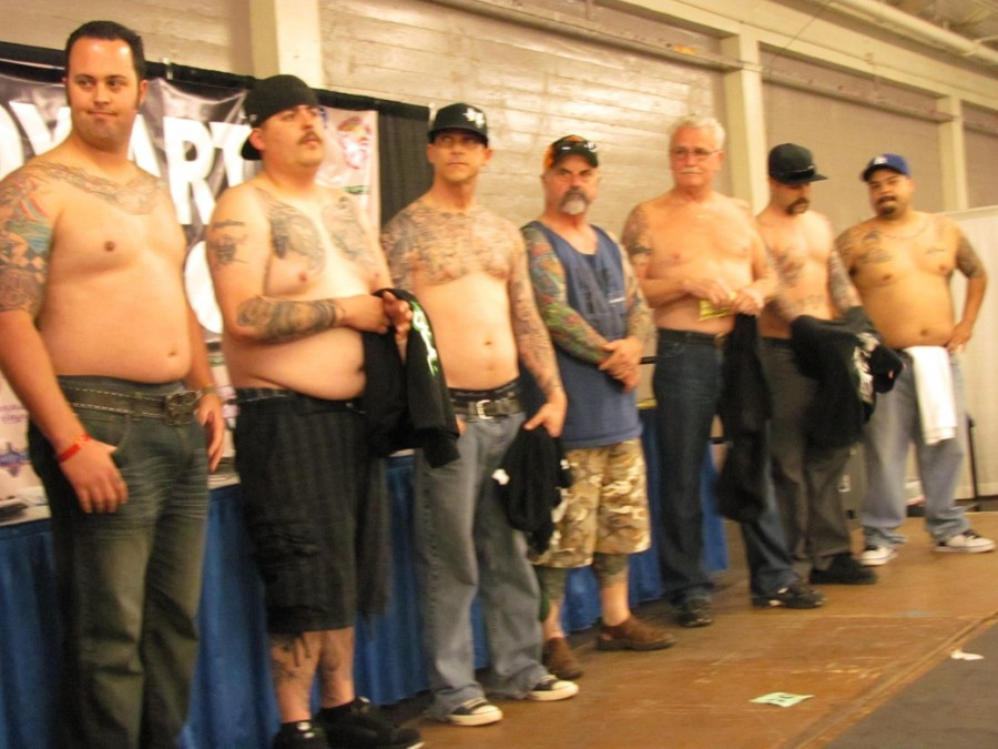 Ink addicts abound at the tattoo body art expo asylum for Tattoo expo san diego