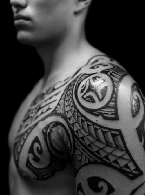 Tribal Tattoos For Men Chest