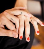 Beautiful Ring Finger Girls Tattoo Design Picture
