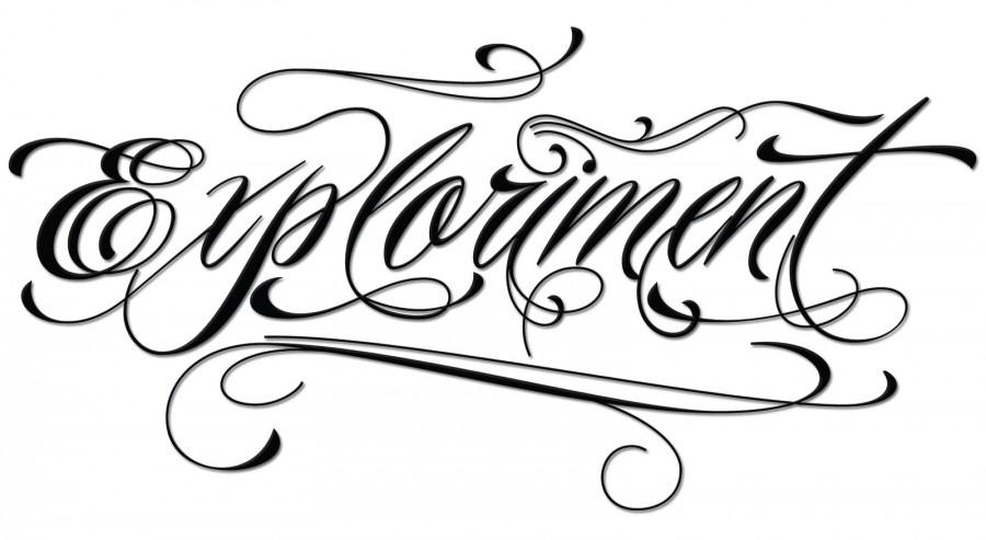 Black Tattoo / Tattoo Script Font Maker / Piel Script Tattoo Font