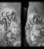 Unique Lettering Tattoos Script Font