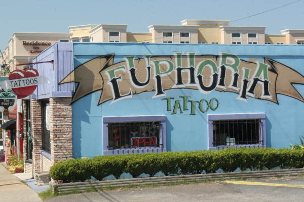 Tattoo Shop in Tallahassee Located At 522 West Gaines