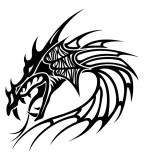 Head Dragon Tattoos Designs For Men