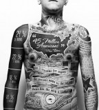 Amazing Full Body Tattoo Designs For Men