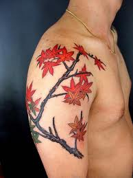 Leaf Tattoo Designs For Men