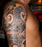 Full Tribal Tattoo Designs For Men