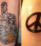Peace Symbol Tattoos Design